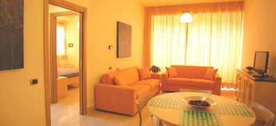 Photo for Appartamento Ariele F: An elegant and modern apartment situated in a central location, a few steps from the main tourist attractions of Rome, with Free WI-FI.
