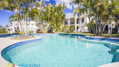 Photo for GOLD COAST HOLIDAY HOUSES  - CASABLANCA - HEATED POOL FOR WINTER