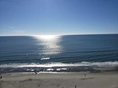 Photo for Newly Renovated May 2020 Ocean Front 1BR/1BA Balcony Sleeps 4 Baywatch 12th Fl