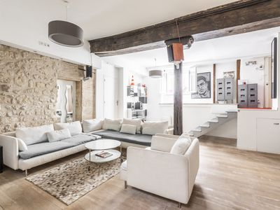 "Photo for FULLY RENOVATED LUXURY LOFT IN ""THE MARAIS"""