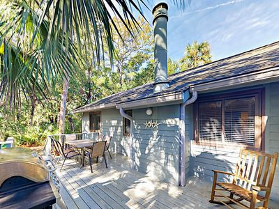 Photo for Charming 3BR w/ Private Deck & Screened Porch - Walk 2 Minutes to Beach