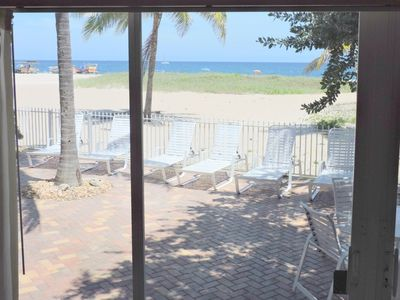 Photo for Blue Ocean Villa 3 Oceanfront 4/3 for 10 Heated Pool