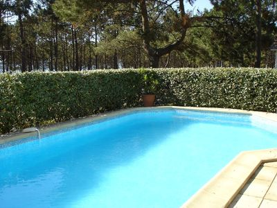 Photo for EXCEPTIONAL FRAME VILLA VIEW BASIN WITH SWIMMING POOL HEATED ARCACHON PEREIRE
