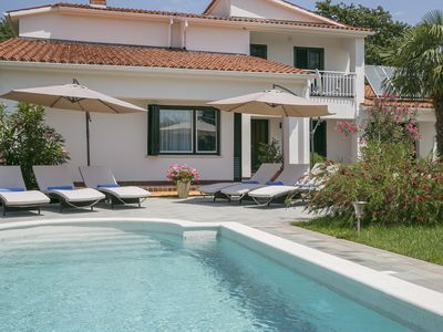 Photo for Luxury Villa Lena with pool,aircond.,fitness,game room,table tenis,basket court