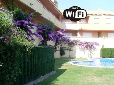 Photo for L'escala: apartments - 3 rooms - 4 persons