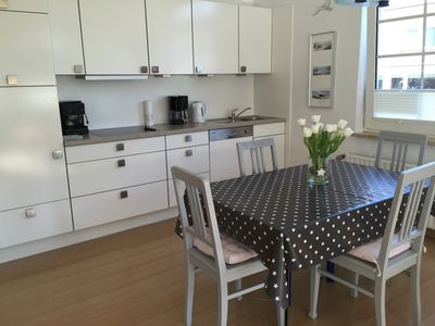 Photo for Centrally located in Kirchstr. - Apartment for 4-5 people with its own south-facing terrace