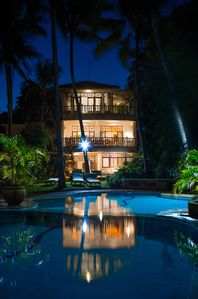 Monkey Beach House_night time