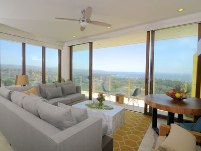 Photo for 2 bedrooms / 2 bathrooms breathtaking views.