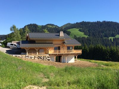 Photo for Beautiful New Chalet for 10 persons with Jacuzzi and Sauna