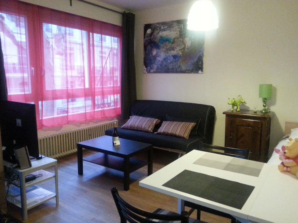 Furnished studio Part-Dieu comfortable