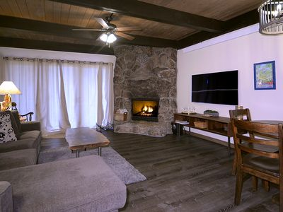 Photo for Spacious, Remodeled condo w/ mountain views and fireplace. Pet friendly!