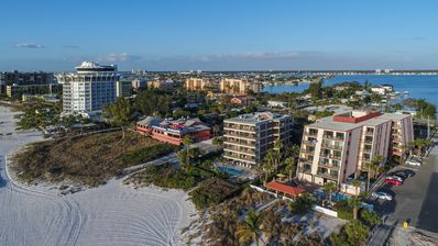 Right on the sand -Gulf Gate Resort St Pete Beach