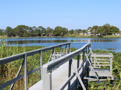 Photo for The Lily Pad 1! Pier Park convenience on the lake and close to the beach!