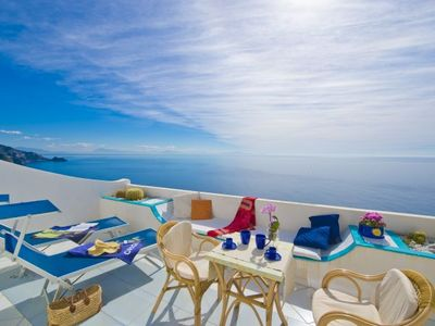 Photo for 1BR Apartment Vacation Rental in Praiano