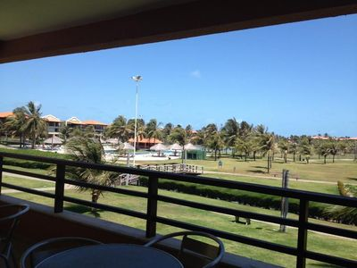 Photo for Apartment of 100mts at the Aquaville Resort - Porto das Dunas