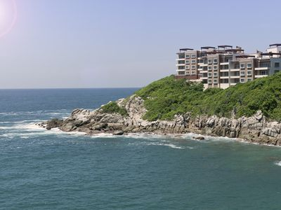 Photo for Oceanfront and Mountain Views! Luxury 2 Bdrm Condo in Punta Arrocito