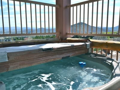 Photo for Perfect for Families ~ AC, 4 King Suites, Private Hot Tub! Resort Amenities - Pools, Gym, Shuttle