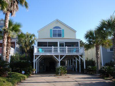 Photo for *Resurfaced pool (Heated Extra)* 150 Yds To The Beach! Golf Cart Included! Wifi