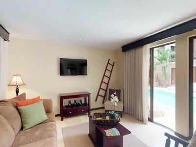 Photo for NEW LISTING! Two condos w/shared pool, tennis, fitness center-close to the beach