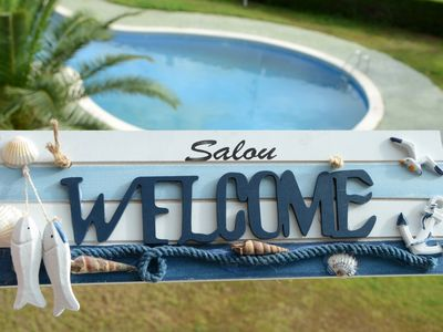 Photo for OFFRE SALOU  CLIMATE, VERY QUIET WITH SWIMMING POOL AND LARGE TERRACE