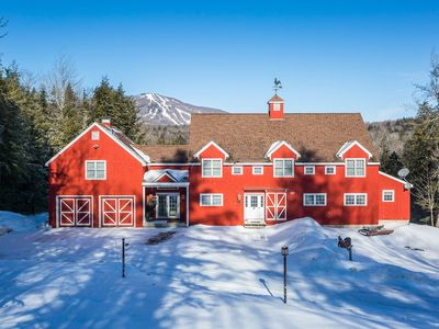 Photo for Picturesque apartment on 5 private acres overlooking Bromley Mountain.