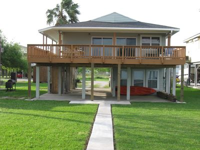 Photo for Non Smoking/ Water Front Bayhouse With Private Fishing Pier And Boat Dock