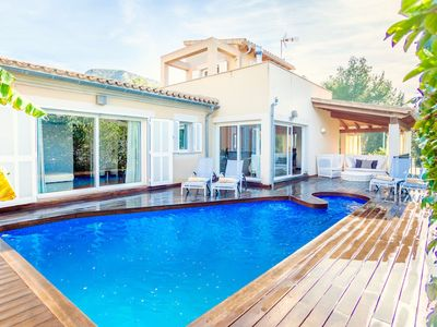 Photo for Port d'Alcudia Villa, Sleeps 6 with Pool and Air Con