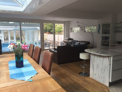 Photo for River House with Heated Pool, Parking & Garden