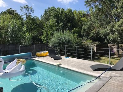 Photo for Great House Downtown La Rochelle, with heated pool.
