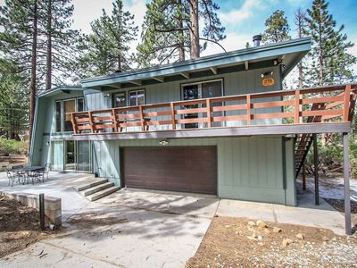 Photo for House 979 m from the center of Big Bear Lake with Parking, Internet, Balcony (983704)