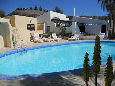 Photo for Small bungalow complex in a quiet area, with nice garden and small pool.