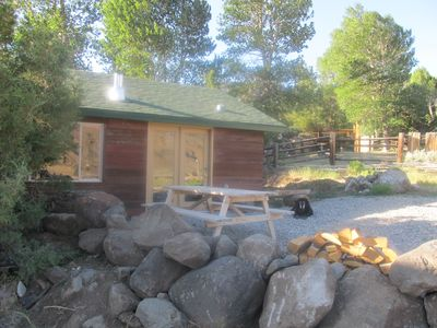 Photo for The Remington - Yellowstone and Cody Cabin with spectacular views.