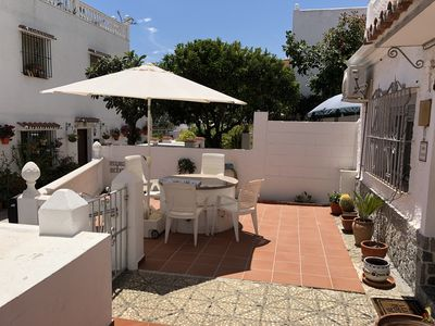 Photo for Charming 3 Bed House in CENTRE of La Cala.  100m from Beach, 30m from Main St.