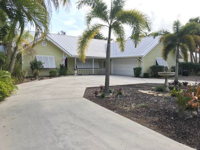 Photo for Luxurious Waterfront Home, ocean access, dock, pool, and spa