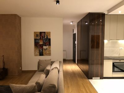 Photo for Luxury Parkview Apartment in central Belgrade