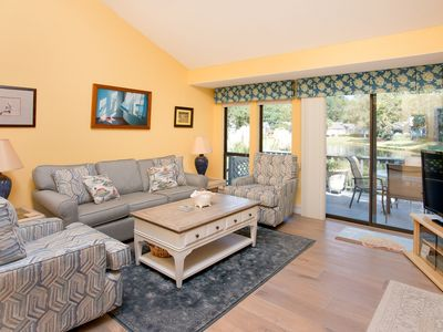 Photo for Updated Lake Forest Villa w/ New Furnishings: Pool & Tennis, Near Beach!