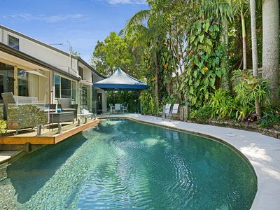 Photo for Tropical 5 bedroom family getaway in Noosa Heads