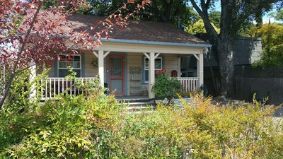Photo for Vintage Downtown Santa Rosa Wine Country Cottage with Self Check in/out
