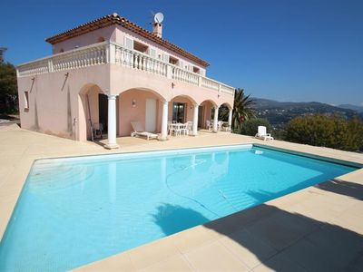 Photo for NICE COLLINES PRIVATE VILLA WITH SWIMMING POOL