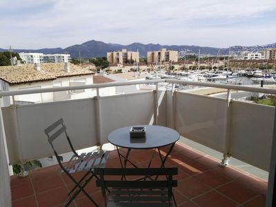 Photo for Vista Roses Mar - Renovated one-bedroom apartment with garden views and partial views of t