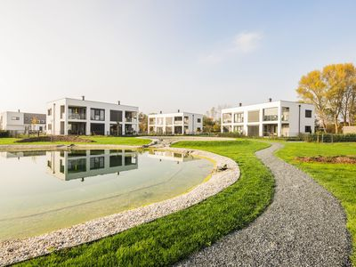 Photo for Modern apartment with swimming pond and golf at the Lutzmannsburg thermal baths