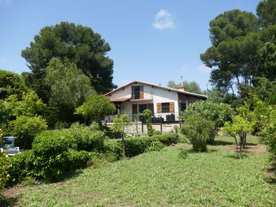 Photo for 4BR House Vacation Rental in Vallauris, Provence-Alpes-Côte d'Azur
