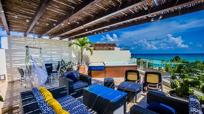 Photo for Ocean Penthouse with PRIVATE Beach Club - Full Service by BRIC Vacation Rentals