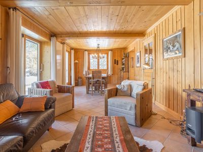 Photo for Magnificent cozy Chalet with panoramic views of the Alps! Free WIFI, Fireplace