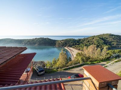 Photo for Holiday home with spectacular sea view in Fetovaia