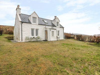 Photo for HERBUSTA VIEW, family friendly, with open fire in Uig, Ref 20010