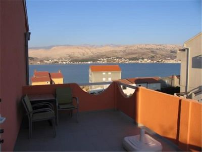 Photo for Apartment Bistro  A2 (5) KAT  - Pag, Island Pag, Croatia