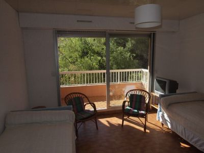 Photo for Studio well located in a quiet area, in a residence close to amenities. Car park.