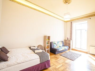 New 2 bedroom apartment with balcony in very center