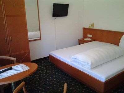 Photo for DOUBLE ROOM WITH SHOWER, WC TYPE C - Hotel Zugspitze